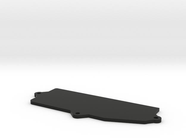 Box top for T5 Nitro conversion radio box. in Black Natural Versatile Plastic
