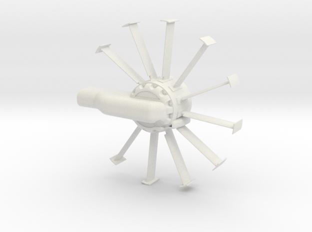 1.6 Airflow EC135 in White Natural Versatile Plastic