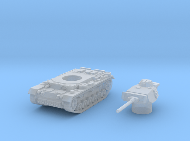 Panzer III L (Germany) 1/144 in Smooth Fine Detail Plastic