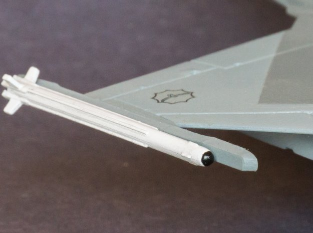 V3E A-Darter Air-to-Air Missile in Smooth Fine Detail Plastic: 1:72