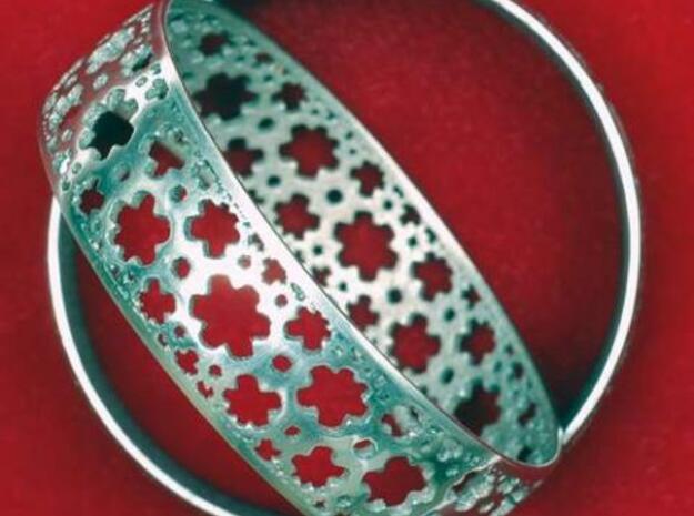 HyperBracelet I  in Polished Silver
