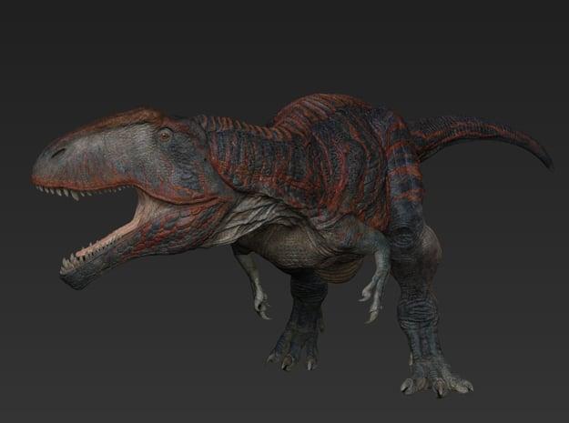 Giganotosaurus ver. 2017 (Medium / Large size) in White Natural Versatile Plastic: Medium