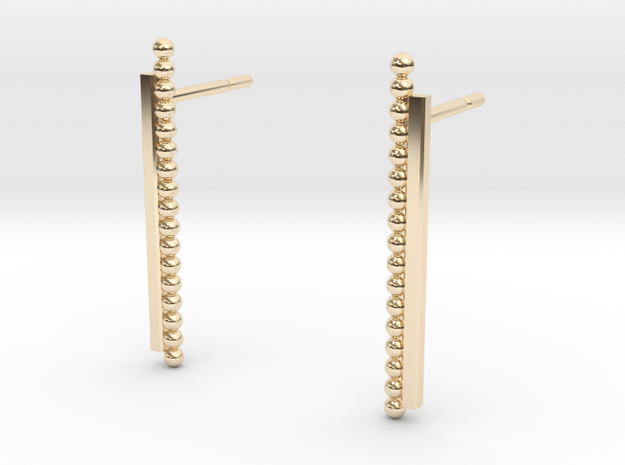 """""""At The French Window"""" Earrings - SMK"""