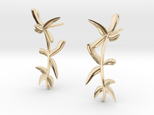 """""""At The French Window"""" Laurel Earrings - SMK"""