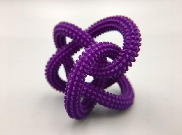 Perko Spikes Knot in Purple Processed Versatile Plastic