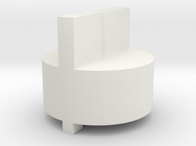 KC02 Valve Tool in White Natural Versatile Plastic