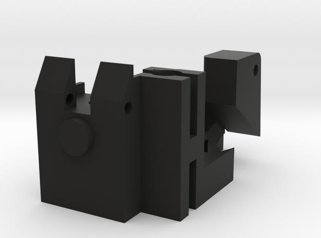 KC02 Internals Shell in Black Natural Versatile Plastic