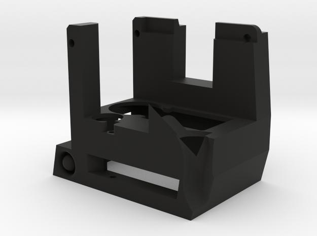 KC02 Adapter Housing in Black Natural Versatile Plastic