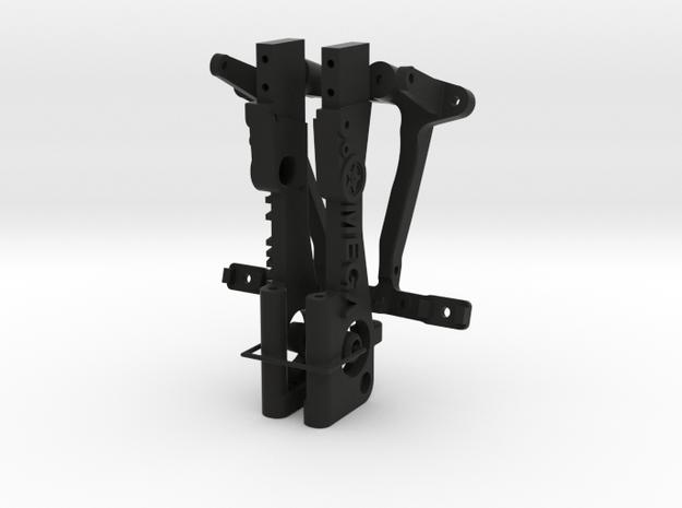 045019-00 Ampro Omega Frame in Black Natural Versatile Plastic