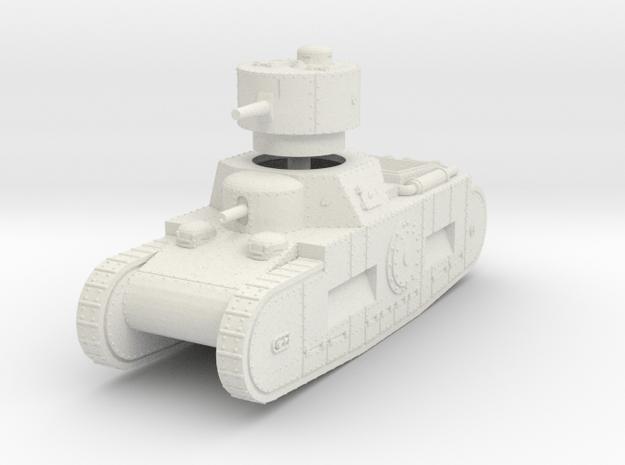 1/72 Sturmpanzerwagen Oberschleisen in White Natural Versatile Plastic