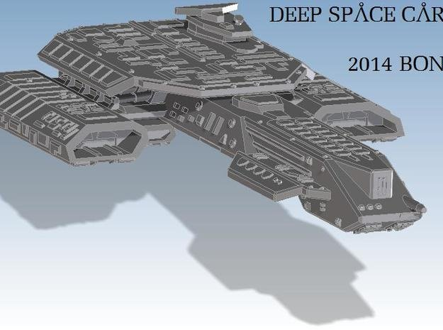 Deep Space Carrier in White Natural Versatile Plastic