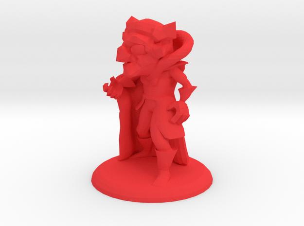 VLAD THE VAMPIRE in Red Processed Versatile Plastic