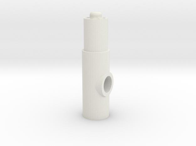Newgrip3 in White Natural Versatile Plastic