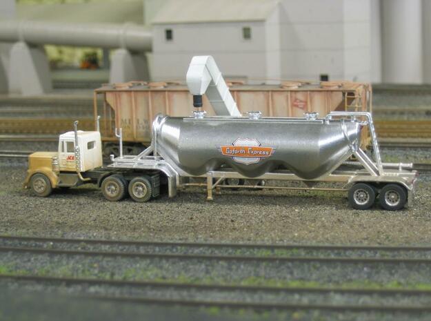 HO 1/87 Dry Bulk Trailer 11 - Heil 1040 Superjet