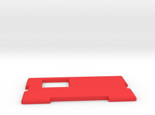 Kmods Squonker Door mm510 in Red Processed Versatile Plastic