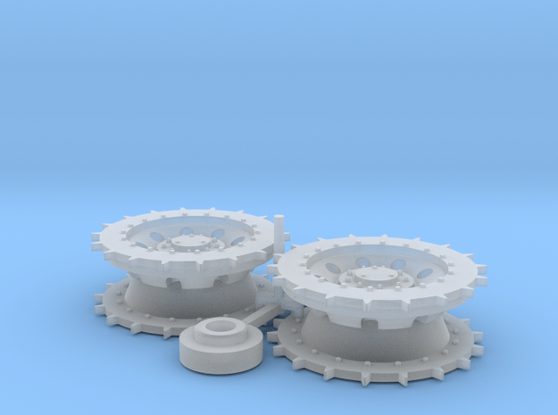 A30 Challenger correct Sprocket 1:35 scale in Smoothest Fine Detail Plastic