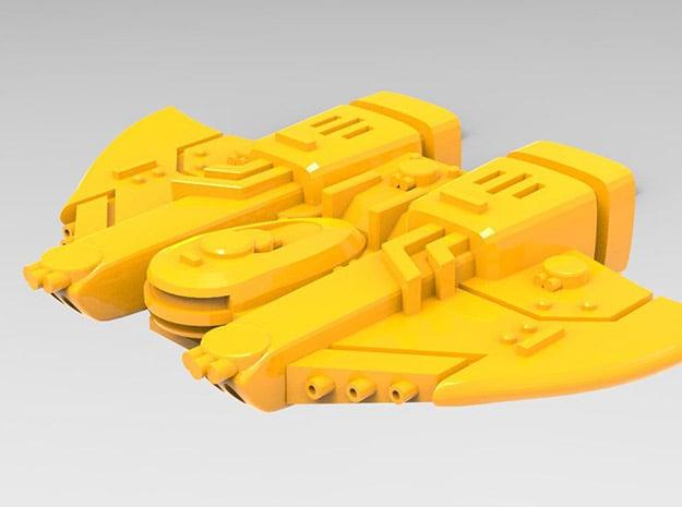 Governor class Escort set in Yellow Processed Versatile Plastic: Small