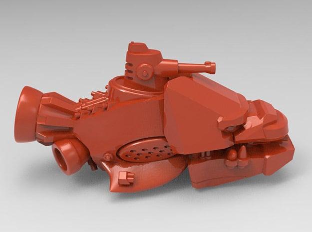 Dread Kruza in Red Processed Versatile Plastic