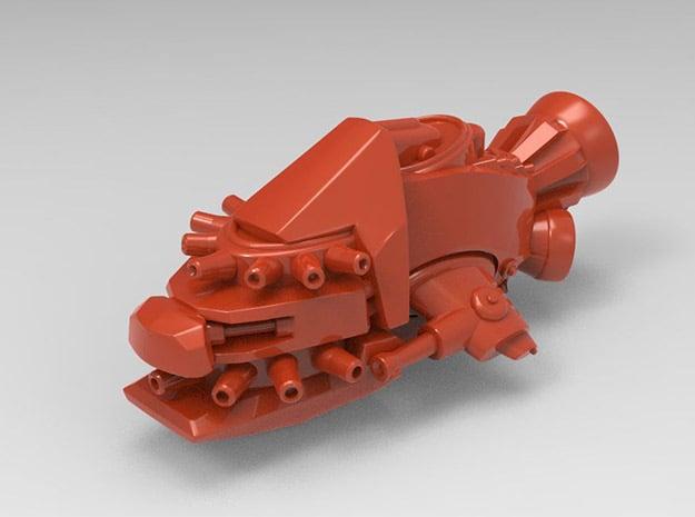 Dakka Kruza in Red Processed Versatile Plastic