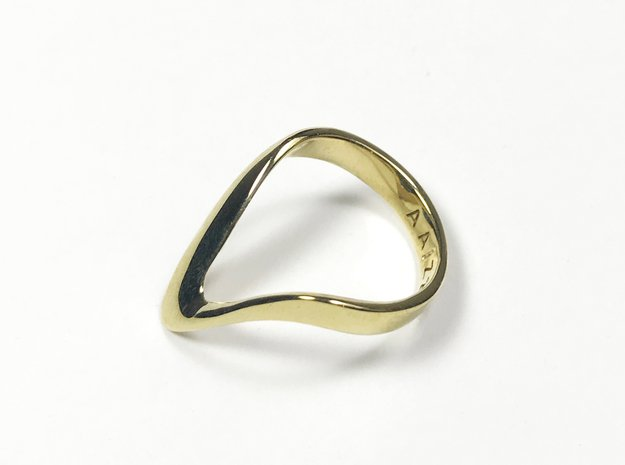 VATA PRECIOUS brass + bronze + gold plated in Polished Brass: 4 / 46.5