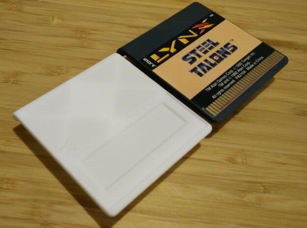 Atari Lynx CartridgeBody V3 in White Natural Versatile Plastic