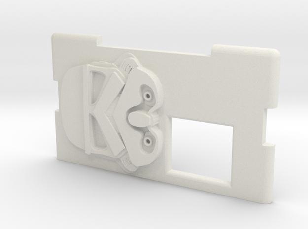 Kmods Squonker Empire Stormtrooper door in White Natural Versatile Plastic