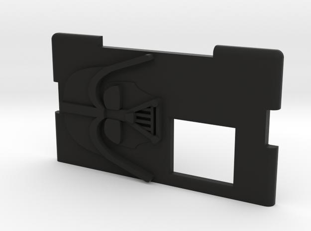 Kmods Squonker Empire Darth Vader Door in Black Natural Versatile Plastic