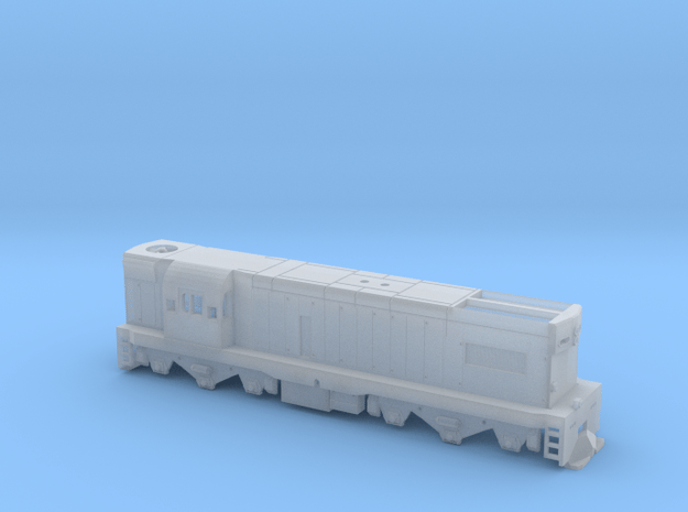 1:87 NZR DB Class in Smooth Fine Detail Plastic