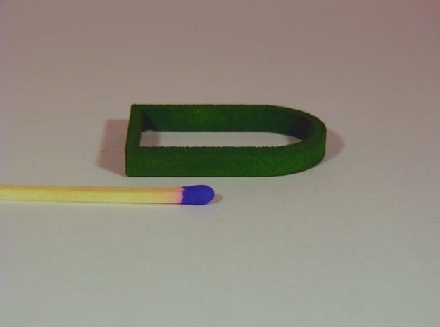 Parkhecke oval gekappt (Buchsbaum) 1:120 in White Natural Versatile Plastic