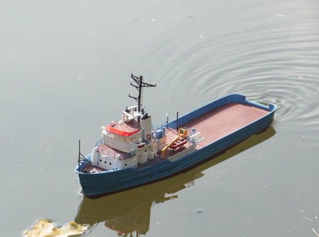 MV Anticosti Hull, Decks and GillJet (RC, 1:200) in White Natural Versatile Plastic