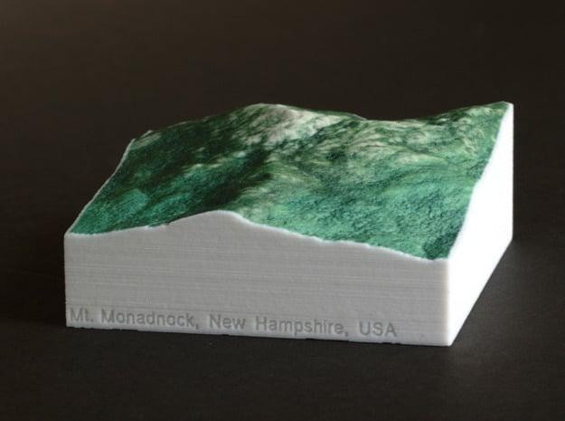 Mt. Monadnock, New Hampshire, 1:25000 Explorer in Full Color Sandstone