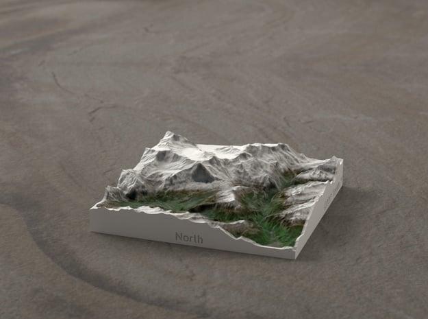 Jungfrau Region, Switzerland, 1:250000 Explorer in Full Color Sandstone