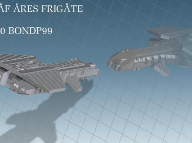 Ares Fleet Action in White Natural Versatile Plastic