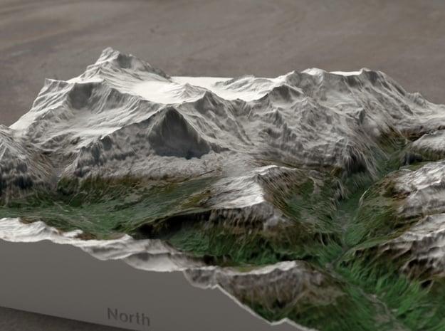 Jungfrau Region, Switzerland, 1:100000 Explorer in Full Color Sandstone