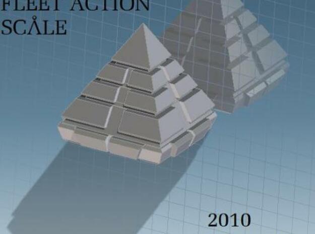 Pyramid Fleet Action in White Natural Versatile Plastic