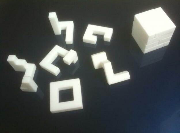 Twist the night away (S) in White Natural Versatile Plastic