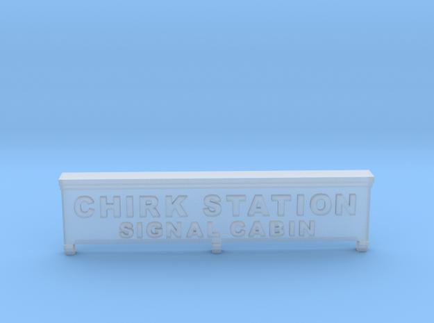 Chirk Signal Cabin Nameplate