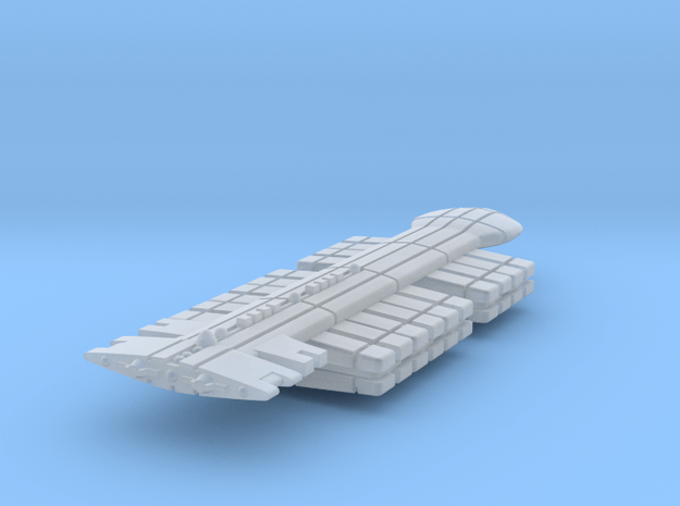 Freighter Type 3 in Smooth Fine Detail Plastic