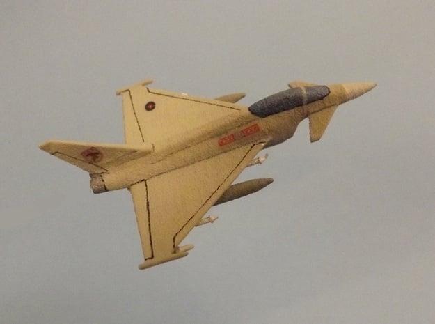 1/285 (6mm) Eurofighter Typhoon Ordnance II in White Natural Versatile Plastic