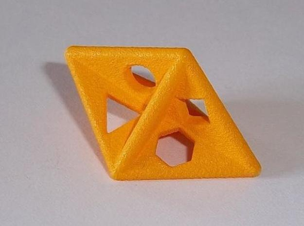 Dipyr D6 (shapes) in White Natural Versatile Plastic