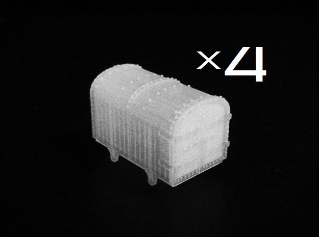 009 Gunpowder Van X4 in Smooth Fine Detail Plastic