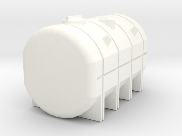1/64 4250 Gallon Tank  in White Processed Versatile Plastic