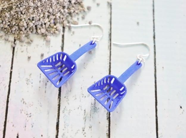 Litter Box Scoop Earrings
