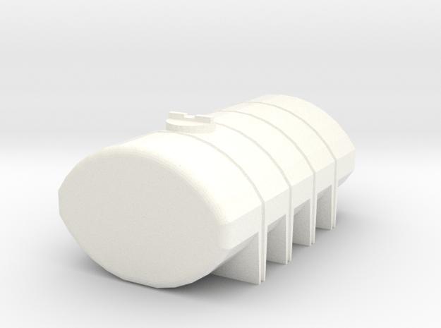 1/64 1850 Gallon Tank in White Processed Versatile Plastic