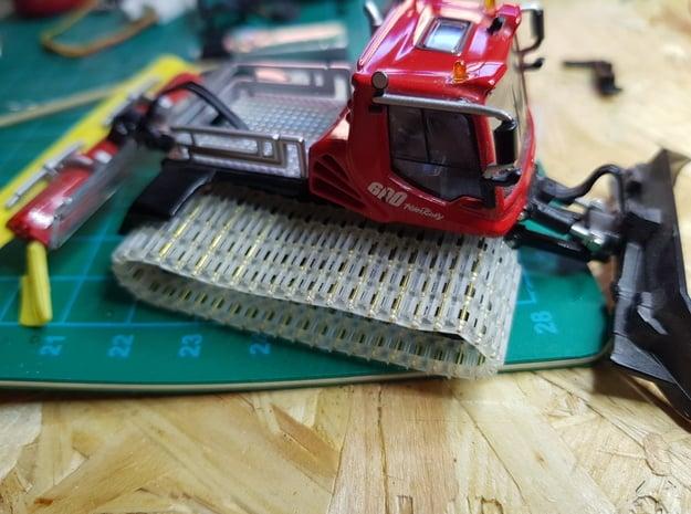 70 x Kettenglieder  mit Antriebs- und Laufrädern in Smooth Fine Detail Plastic