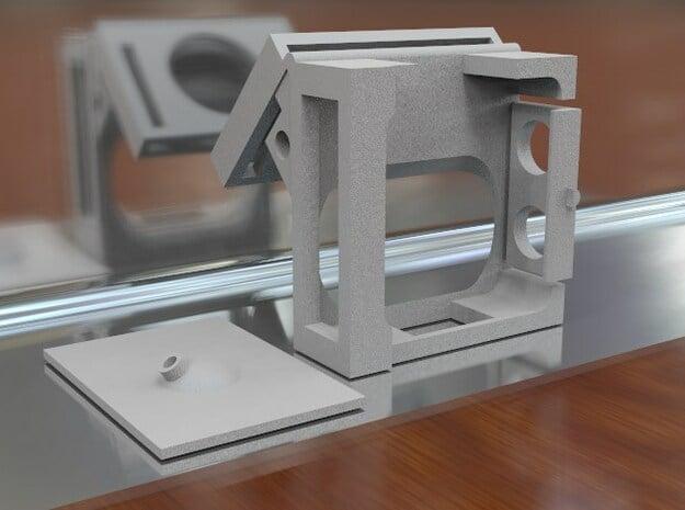 DJI NAZA Mv2 LED mount - Generic Version in White Natural Versatile Plastic