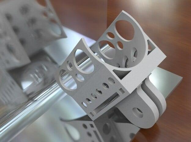 Replay XD1080 - To GoPro Mount (clip mount) - BETA in White Natural Versatile Plastic