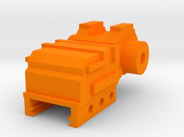 SM-55 Rear Iron Sight in Orange Processed Versatile Plastic