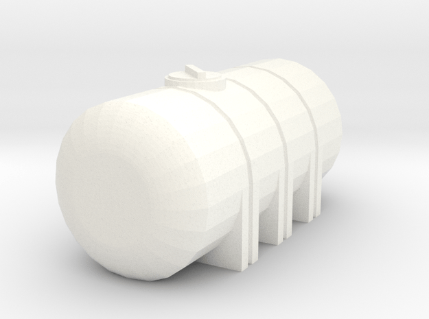 1/64 735 Gallon Tank in White Processed Versatile Plastic