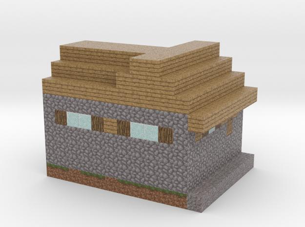 Minecraft Godes Villagehome  in Full Color Sandstone
